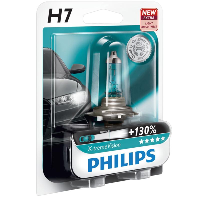 autolampen h7 x tremevision 37168030 von philips. Black Bedroom Furniture Sets. Home Design Ideas
